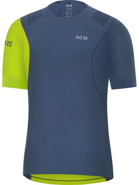 GORE WEAR R7 - Camiseta Running Hombre - verde/azul
